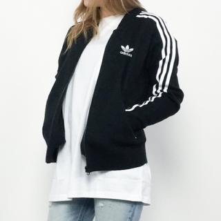 adidas Originalsゴールドパネル トラックロングジャケット黒