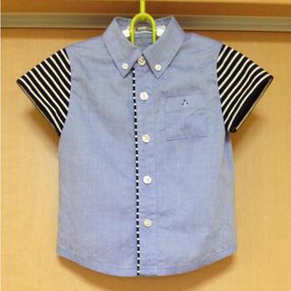 ファミリア(familiar)のボタンダウン シャツ familiar 90(Tシャツ/カットソー)