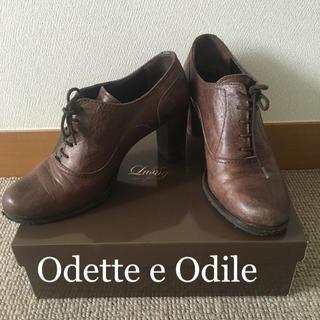 オデットエオディール(Odette e Odile)のオデットエオディール ショートブーティー38 Odette e Odile(ブーティ)