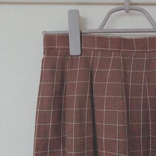 イーストボーイ(EASTBOY)のEAST BOY チェックスカート (ひざ丈スカート)