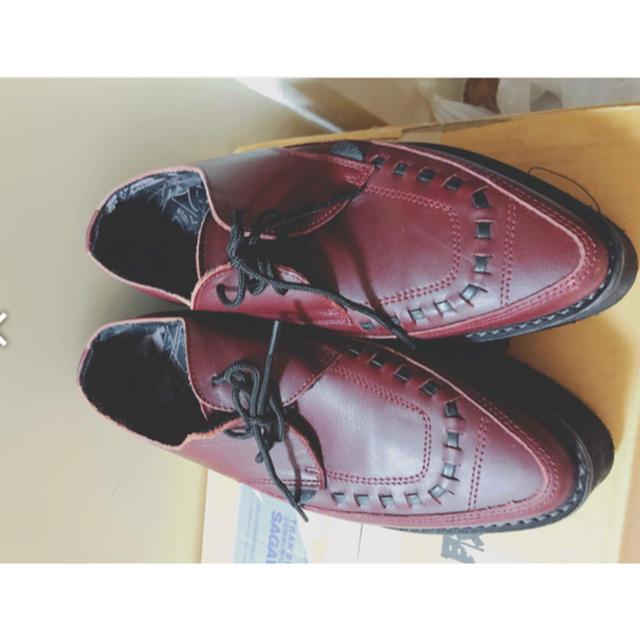 UNDERGROUND(アンダーグラウンド)のUNDER GRAUND ラバーソール レディースの靴/シューズ(ローファー/革靴)の商品写真