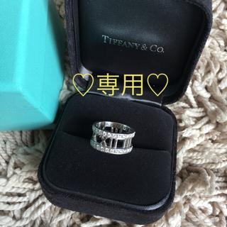 ティファニー(Tiffany & Co.)の♡TIFFANY♡61万アトラス♡ダイヤ♡アトラスオープンリング(リング(指輪))
