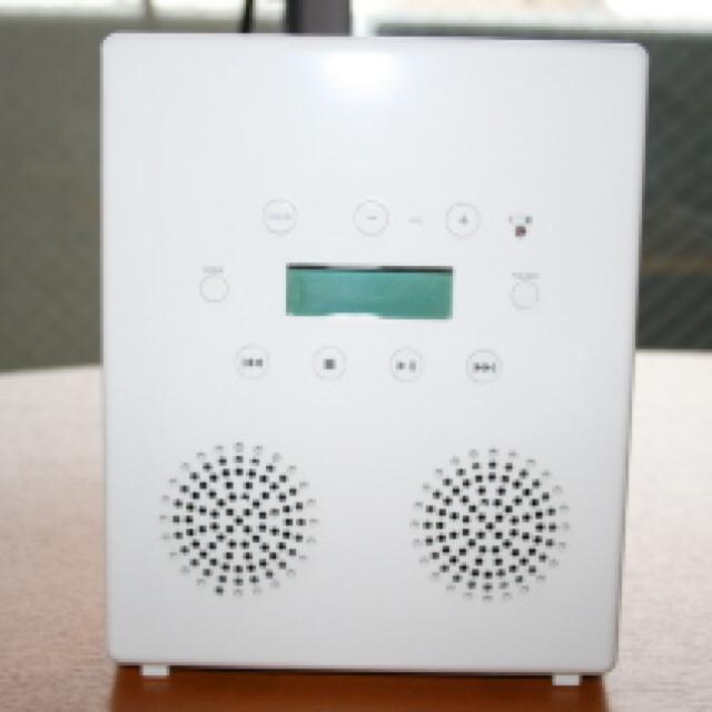 無印良品  防水CDプレーヤー お風呂 ジャンク 本体のみ スマホ/家電/カメラのオーディオ機器(スピーカー)の商品写真
