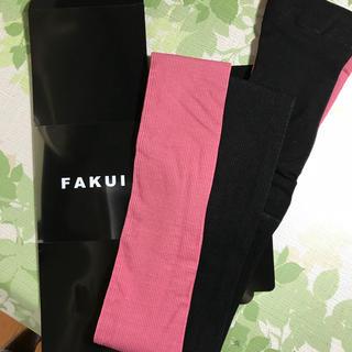 ステュディオス(STUDIOUS)の年末セール! ファクイ Fakui バイカラー リブタイツ(タイツ/ストッキング)