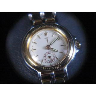 トラサルディ(Trussardi)のトラサルディ スモールセコンド コンビ vintage(腕時計)