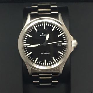 シン(SINN)のガク様 ジン Sinn 556ブレス 正規購入2年保証付 極美品 時計(腕時計(アナログ))
