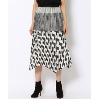 デプレ(DES PRES)の16AW DES PRES ジオメトリックプリント プリーツスカート(ロングスカート)