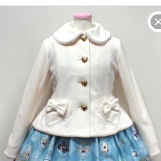 アンジェリックプリティー(Angelic Pretty)のAngelic Pretty♡新品ハートボタンジャケットコート(ピーコート)