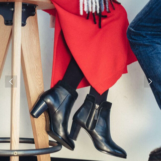 オデットエオディール(Odette e Odile)の【BAILA 1月号掲載】OFC メタルジップ ショートブーツ(ブーツ)