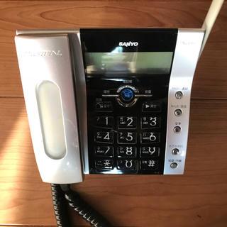 シャープ(SHARP)のシャープ電話機子機2台(電話台/ファックス台)