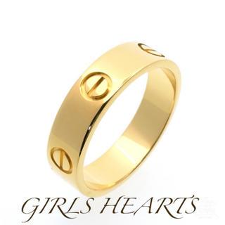 送料無料16号〜17号ゴールドサージカルステンレスラブリング指輪値下げ残りわずか(リング(指輪))
