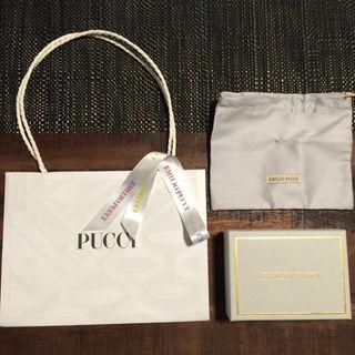 エミリオプッチ(EMILIO PUCCI)のカーター様専用 PUCCI ショッパー&保存袋&箱&リボンセット(ショップ袋)