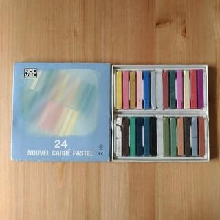 ターレンス カラー パステル ヌーベル 24色セット(クレヨン/パステル)