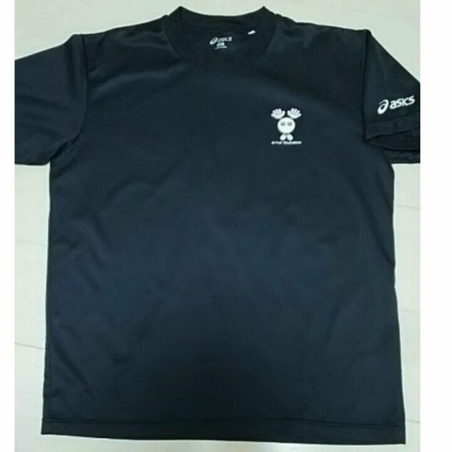Asics アシックスmサイズバレーボールtシャツ半袖メンズ