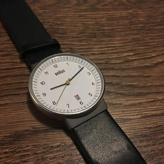 ブラウン(BRAUN)のbraun 腕時計(腕時計(アナログ))