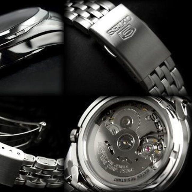 SEIKO(セイコー)のセイコー入手困難!!逆輸入☆幻のSEIKOセイコー5 自動巻き腕時計!/シルバー メンズの時計(腕時計(アナログ))の商品写真