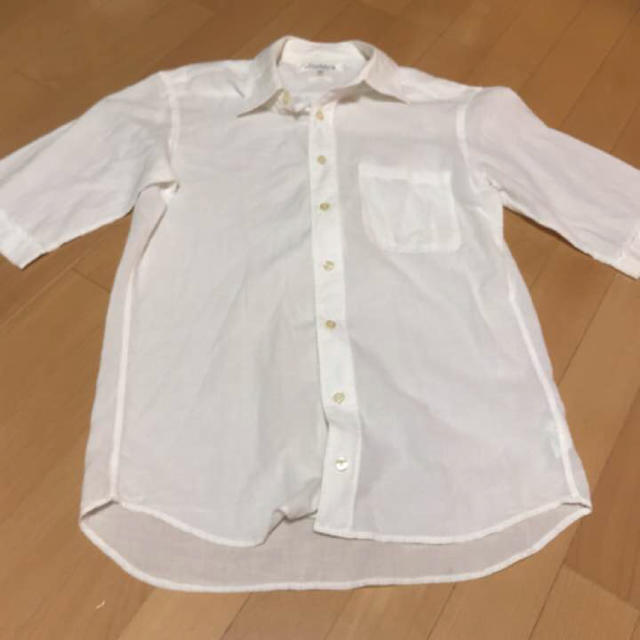 Adam et Rope'(アダムエロぺ)の半袖白シャツ メンズのトップス(シャツ)の商品写真