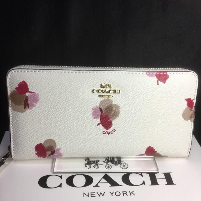 best website 7141b 62f04 限定セール❣️新品コーチ長財布F53794綺麗で大人可愛いホワイト