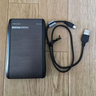 アイオーデータ(IODATA)のポータブルハードディスク 300GB(その他)