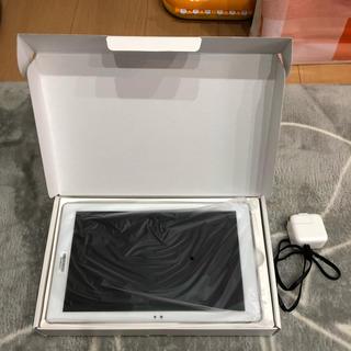 エルジーエレクトロニクス(LG Electronics)の新品未使用 Qua tab  PZ SIMフリー(タブレット)