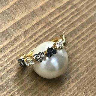 k18ハート♡ハートダイヤモンドピンキーリング(リング(指輪))