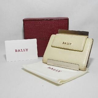バリー(Bally)の【良好☆本物★正規品☆人気】バリー ベージュ系 レザー カードケース(名刺入れ/定期入れ)