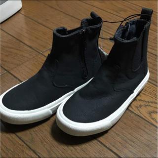 ザラ(ZARA)のZARA ザラ サイドゴア ブーツ 16.8cm(ブーツ)
