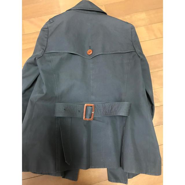 H.P.FRANCE(アッシュペーフランス)のUsagi pour toi  トレンチコート  ウサギプゥトワ レディースのジャケット/アウター(トレンチコート)の商品写真