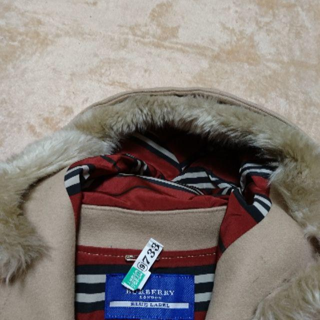 BURBERRY BLUE LABEL(バーバリーブルーレーベル)のブルーレーベルのハーフコート レディースのジャケット/アウター(ピーコート)の商品写真