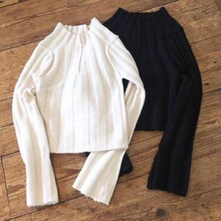 トゥデイフル(TODAYFUL)のTODAYFUL widerib short knit(ニット/セーター)
