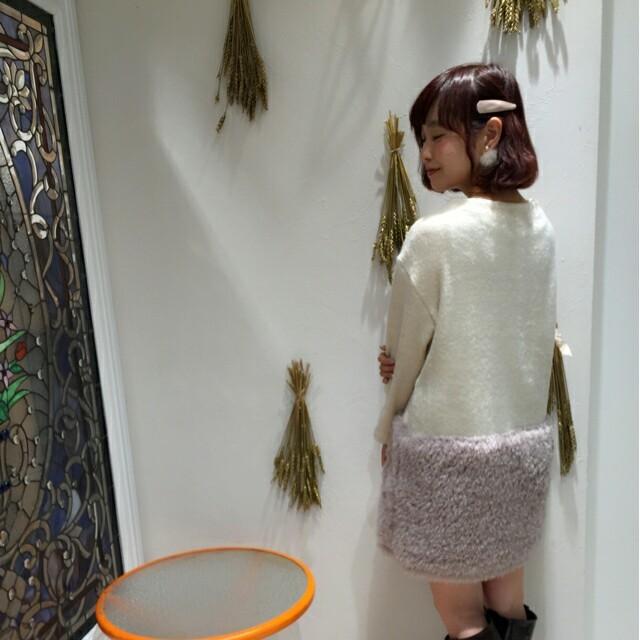 flower(フラワー)のALL500円SALE♡bicolor mix op レディースのワンピース(ミニワンピース)の商品写真