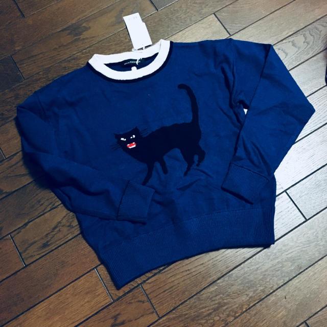 PAGEBOY(ページボーイ)のページボーイ○猫ニット新品 レディースのトップス(ニット/セーター)の商品写真
