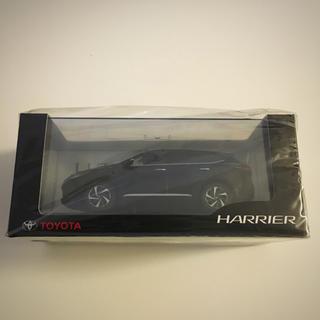 トヨタ(トヨタ)の【非売品】トヨタ 新型 後期 ハリアー 60 ブラック 黒 202 ミニカー (ノベルティグッズ)