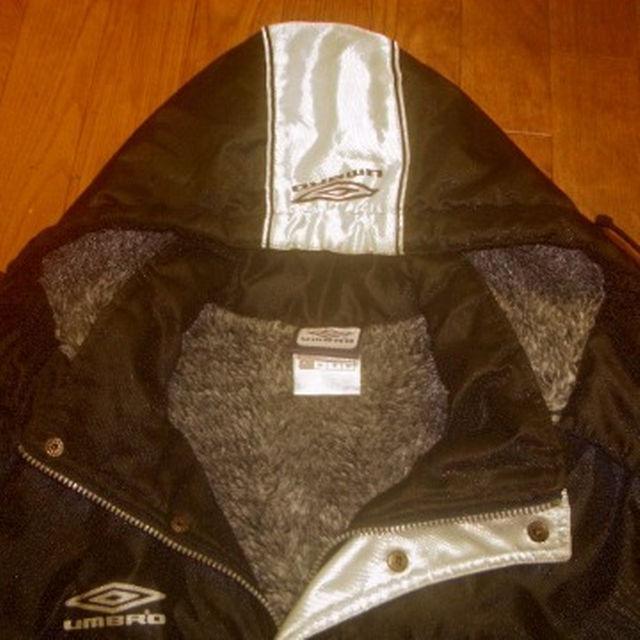 ★アンブロ★umbro★黒★ベンチコート★М メンズのジャケット/アウター(その他)の商品写真