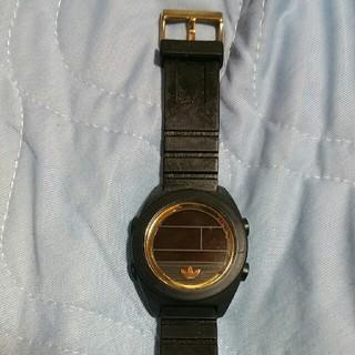 アディダス(adidas)のアディダス 腕時計 ブラック《期間限定値下げ》(ラバーベルト)
