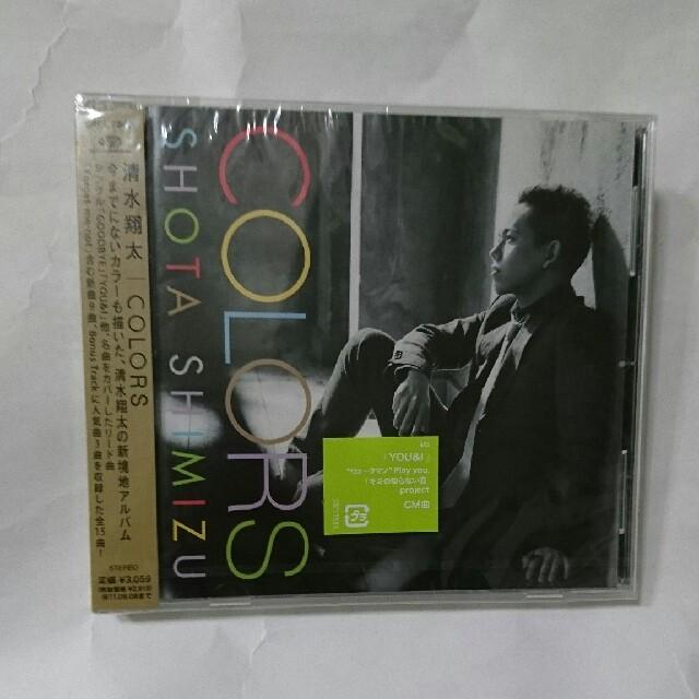 【 未開封新品】清水翔太 アルバム「COLORS」JOEとのコラボ曲も R&B エンタメ/ホビーのCD(R&B/ソウル)の商品写真