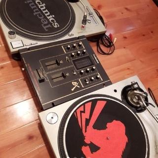Technics ターンテーブル セット DJ (ターンテーブル)
