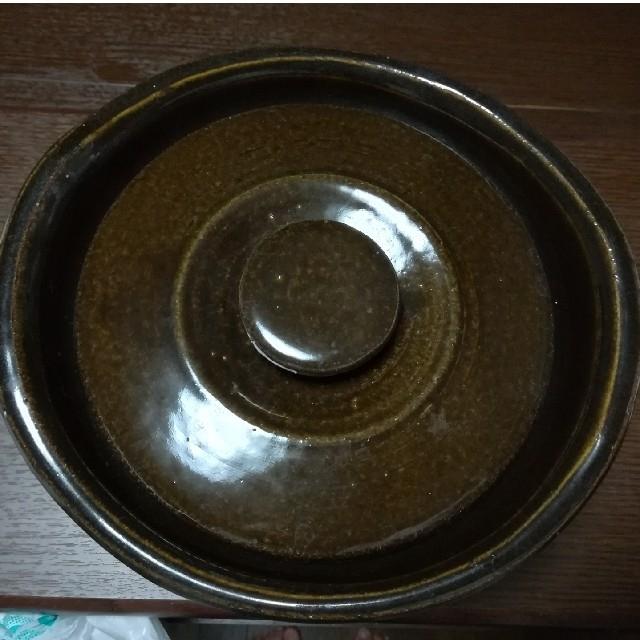 MUJI (無印良品)(ムジルシリョウヒン)の無印 土鍋 土釜おこげ 3合 送料込! インテリア/住まい/日用品のキッチン/食器(鍋/フライパン)の商品写真