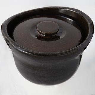 ムジルシリョウヒン(MUJI (無印良品))の無印 土鍋 土釜おこげ 3合 送料込!(鍋/フライパン)