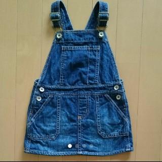 ベビーギャップ(babyGAP)の《 ぺち様 》Baby Gap デニムサロペットスカート(ワンピース)