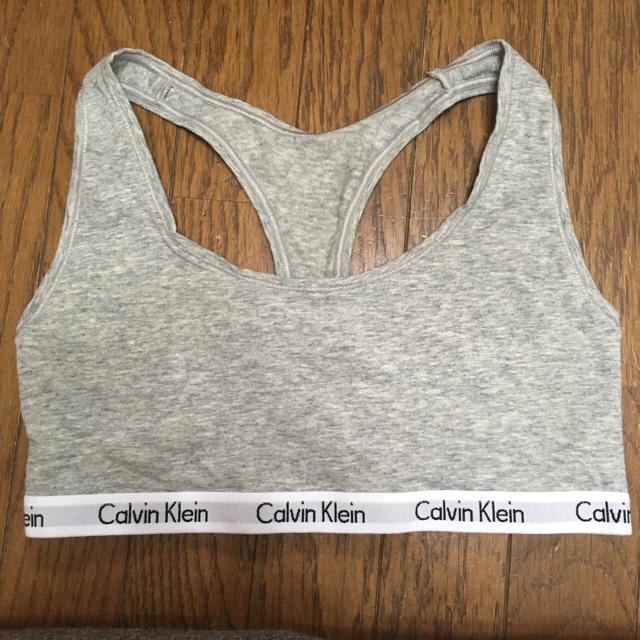 Calvin Klein(カルバンクライン)の美品‼️カルバンクライン  ブラトップ レディースの下着/アンダーウェア(ブラ)の商品写真