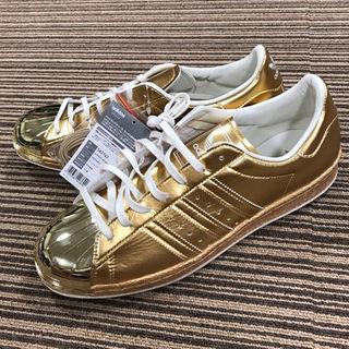 アディダス(adidas)のアディダス ゴールド メタリック 希少レア スニーカー(スニーカー)