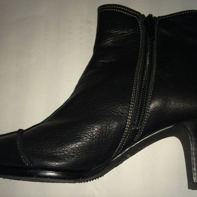 ブーツ 黒 21.5cm レディースの靴/シューズ(ブーツ)の商品写真