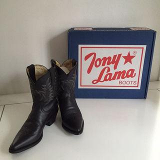 トニーラマ(Tony Lama)のトニーラマ ウエスタンブーツ サイズ7 23㎝(ブーツ)