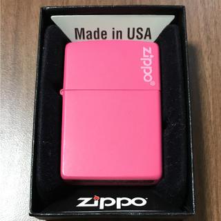 ジッポー(ZIPPO)のZippo ジッポー ピンク ライター(タバコグッズ)