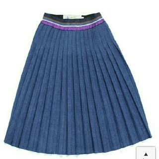 ゴートゥーハリウッド(GO TO HOLLYWOOD)のゴートゥーハリウッド◆デニムクラフテッドプリーツSK120    (スカート)