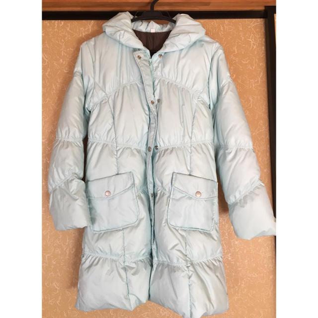 UNIQLO(ユニクロ)の子供用 ダウンコート ライトブルー レディースのジャケット/アウター(ダウンコート)の商品写真