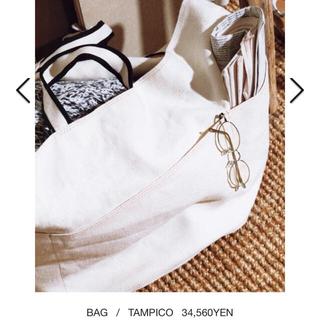 タンピコ(TAMPICO)の新品 タンピコ トートバッグ 完売 ホワイト TAMPICO ギャルリーヴィー(トートバッグ)