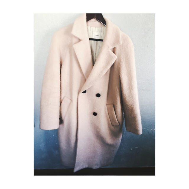 MURUA コート ピンク レディースのジャケット/アウター(ロングコート)の商品写真