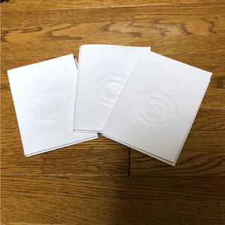 シャネル(CHANEL)のCHANEL シャネル メッセージカード カード入れ プレゼント 三点セット(カード/レター/ラッピング)
